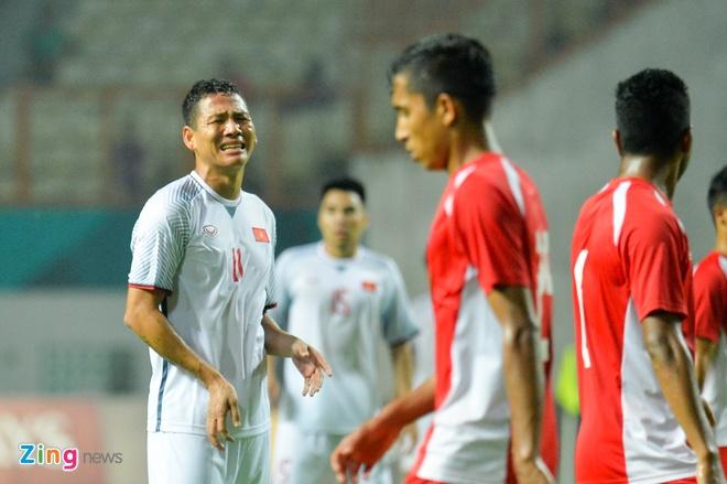 'Song Duc' ghi ban, Olympic Viet Nam vuot qua vong bang ASIAD hinh anh 3