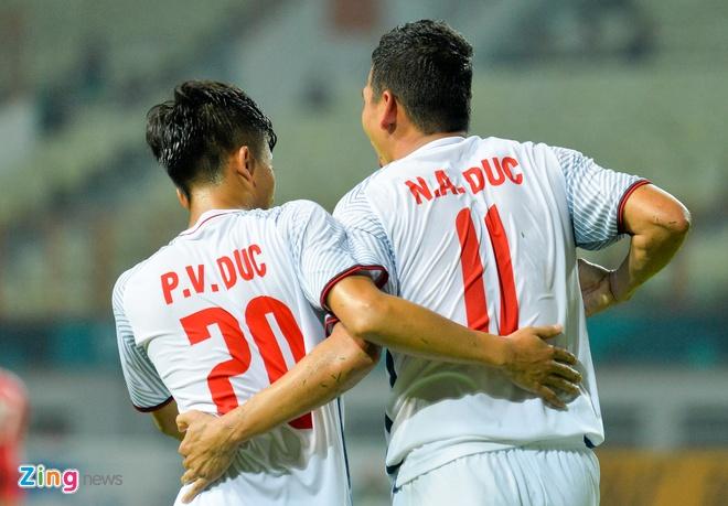 'Song Duc' ghi ban, Olympic Viet Nam vuot qua vong bang ASIAD hinh anh 5