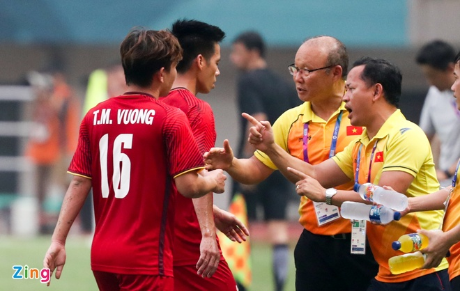 olympic Han Quoc,  Olympic Viet Nam,  Park hang seo,  Olympic UAE,  asiad,  facebook anh 1