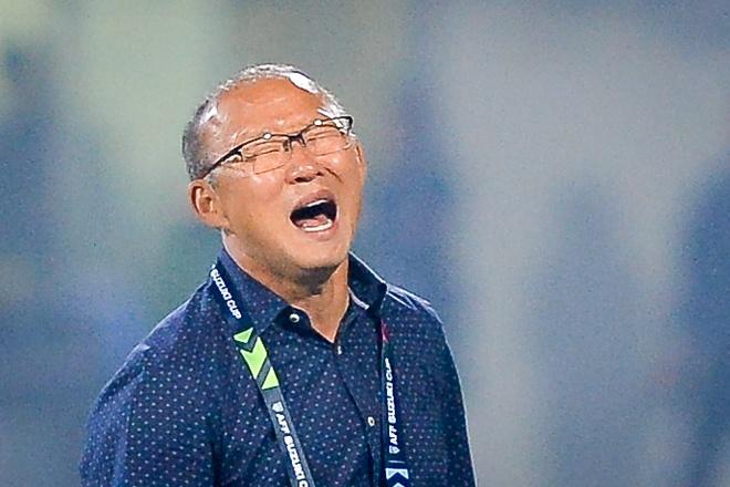 Phan ung dang yeu cua HLV Park Hang-seo trong tran gap Campuchia hinh anh