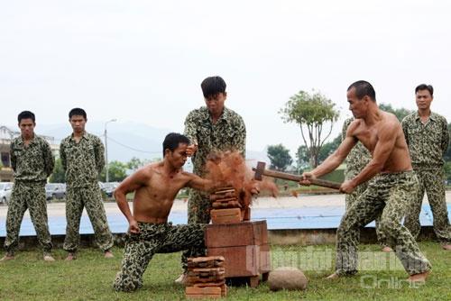 Bo doi Dac cong trinh dien vo thuat hinh anh 9