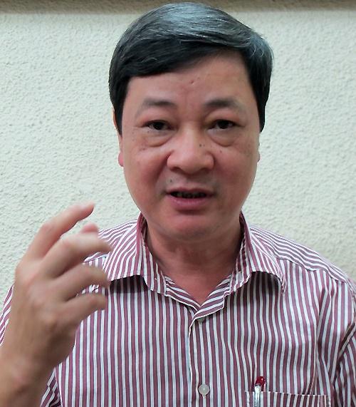 Ông Lê Đức Hiền, Phó cục trưởng Cục phòng chống tệ nạn xã hội.