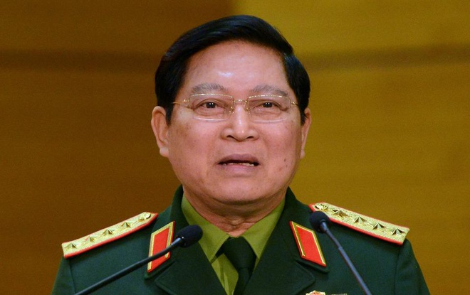 Dai tuong Ngo Xuan Lich: 'Khong de roi vao bay cua nuoc lon' hinh anh
