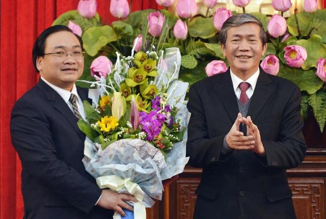 Ong Hoang Trung Hai lam Bi thu Thanh uy Ha Noi hinh anh