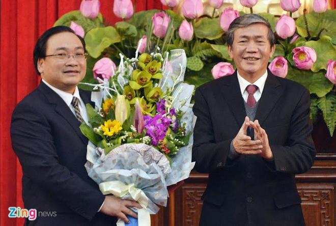 Ong Hoang Trung Hai lam Bi thu Thanh uy Ha Noi hinh anh 1