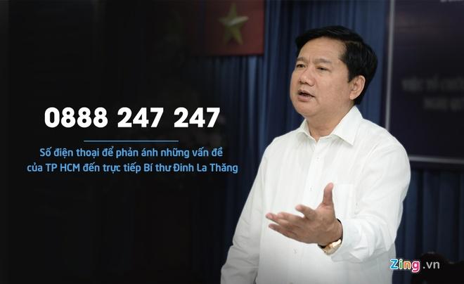 Cong bo hotline, ong Thang da chon viec vat va hinh anh