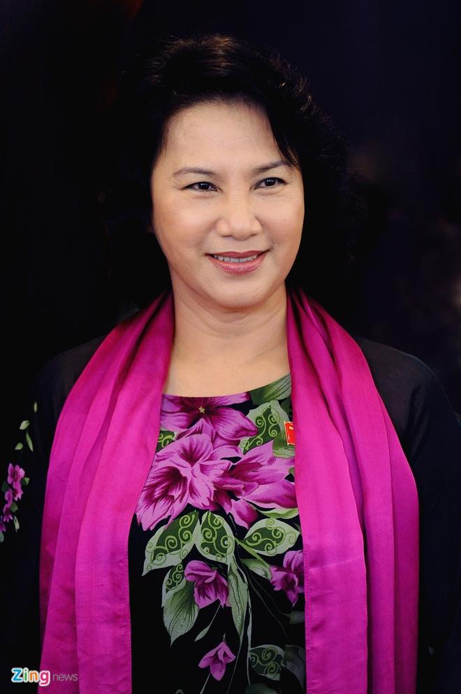 Ba Nguyen Thi Kim Ngan duoc gioi thieu lam Chu tich Quoc hoi hinh anh 1