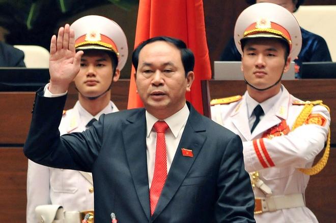 Chu tich nuoc Tran Dai Quang: 'Kien quyet bao ve chu quyen' hinh anh