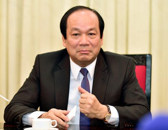 Bo truong Mai Tien Dung: 'Thay ap luc tu nguoi tien nhiem' hinh anh 1