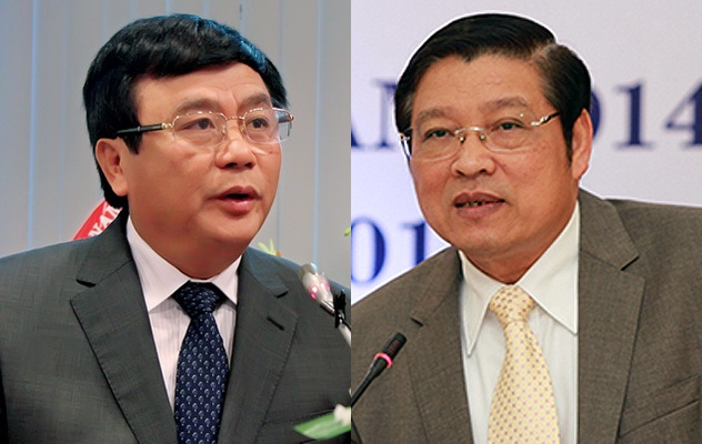 Ong Phan Dinh Trac, Nguyen Xuan Thang duoc bau vao Ban Bi thu hinh anh