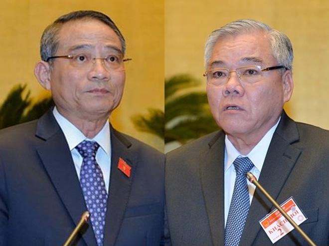 Mien nhiem Bo truong GTVT, Tong Thanh tra Chinh phu trong thang 10 hinh anh