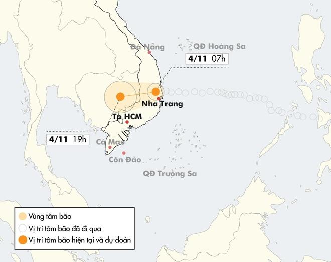 Bao so 12 tan pha Khanh Hoa - Phu Yen, 20 nguoi thiet mang hinh anh 1