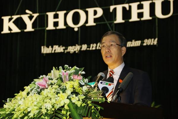 Nguyen Bi thu Tinh uy Vinh Phuc co nhieu vi pham hinh anh 1