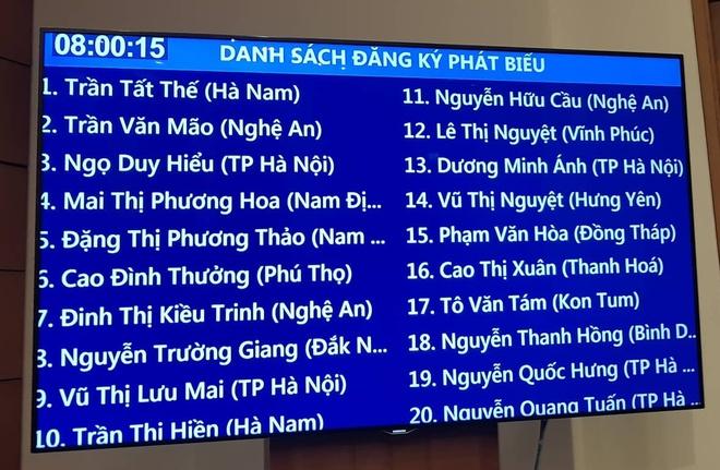 Chat van ky hop thu 6 Quoc hoi khoa XIV anh 1