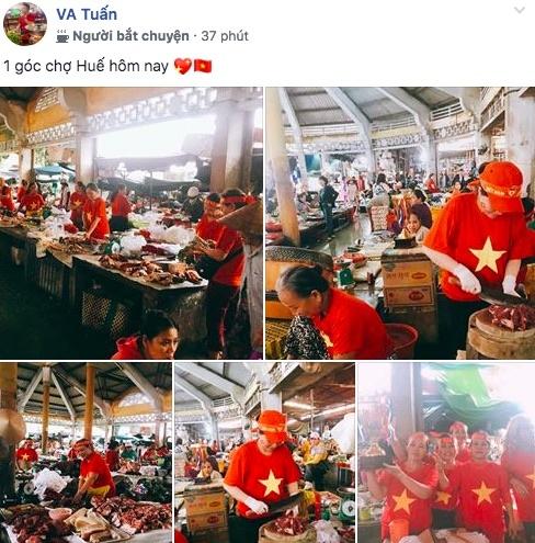 Gia đình Văn Đức mổ lợn đãi người tới xem cổ vũ tuyển Việt Nam