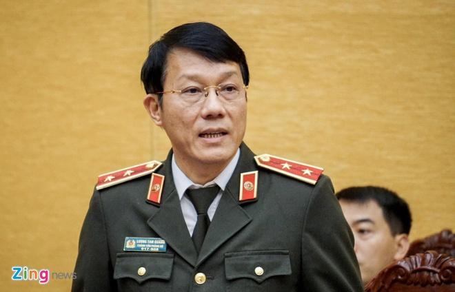 Trung tuong Luong Tam Quang: Da truy na quoc te Bui Quang Huy hinh anh 1