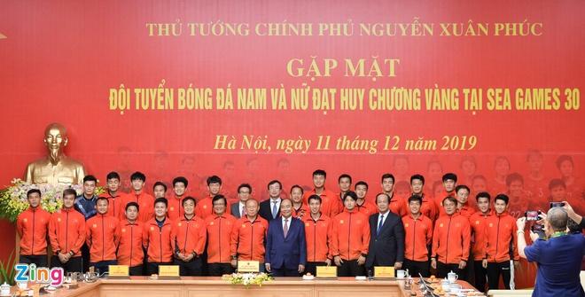 Thu tuong giai thich viec 'chi gap 2 doi bong da vo dich SEA Games 30' hinh anh 1 11_zing_1_(1).jpg