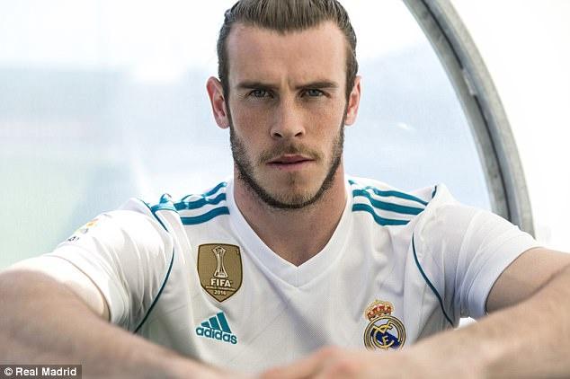 Gareth Bale toa sang trong 2 mau ao dau moi cua Real Madrid hinh anh