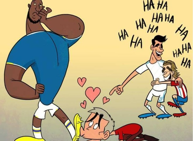 Hi hoa Mourinho quy rap xin Lukaku den Man Utd hinh anh