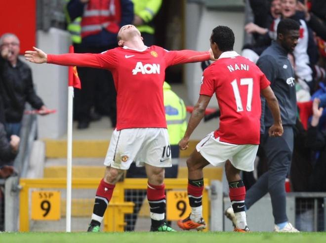 Nhung ky niem dang nho cung MU do dich than Rooney lua chon hinh anh 13