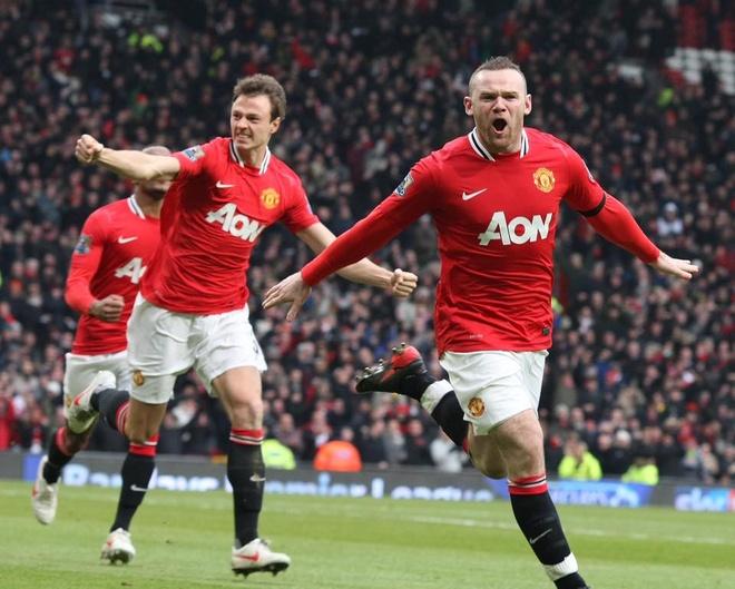 Nhung ky niem dang nho cung MU do dich than Rooney lua chon hinh anh 14