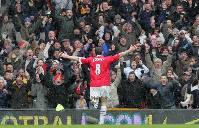Nhung ky niem dang nho cung MU do dich than Rooney lua chon hinh anh 3
