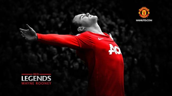 Nhung ky niem dang nho cung MU do dich than Rooney lua chon hinh anh