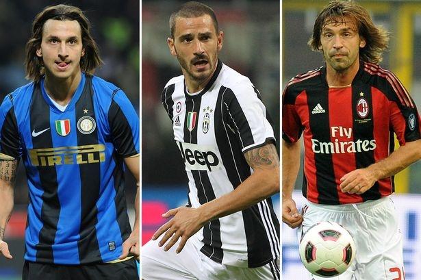 10 danh thu tung khoac ao ca Milan, Inter va Juventus hinh anh