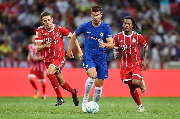 Morata ra mat Chelsea anh 8