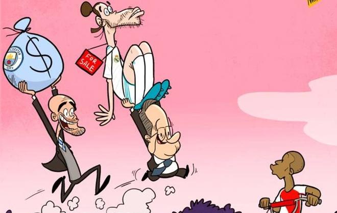 Hi hoa chu tich Perez ban thao Bale de chieu mo Kylian Mbappe hinh anh