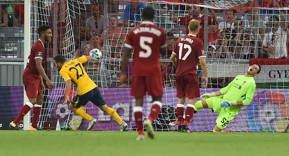 Danh bai Liverpool, Atletico Madrid dang quang Audi Cup 2017 hinh anh 3