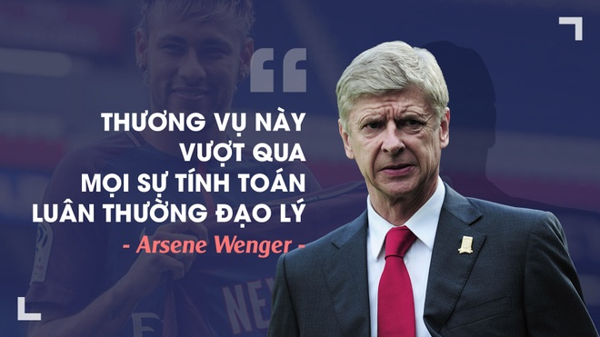 Wenger, Klopp va nhung chuyen gia phan doi thuong vu Neymar hinh anh