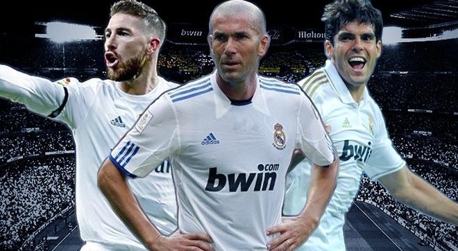 Zidane, Kaka va doi hinh dat nhat lich su La Liga hinh anh