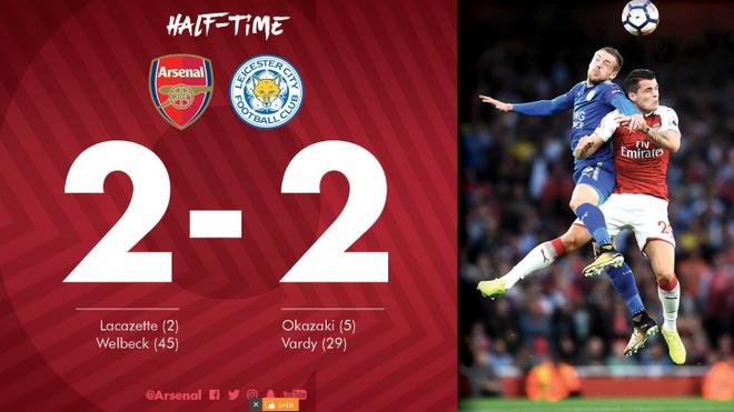 Arsenal vs Leicester (4-3): Nguoc dong ngoan muc hinh anh 27