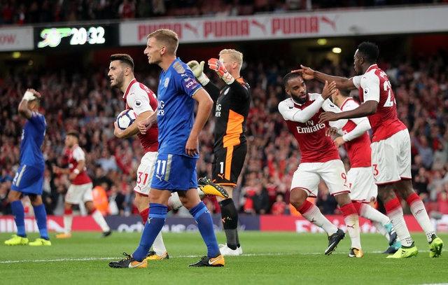 Arsenal vs Leicester (4-3): Nguoc dong ngoan muc hinh anh 26