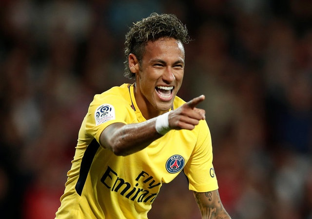 Neymar ghi ban, kien tao trong tran ra mat PSG hinh anh