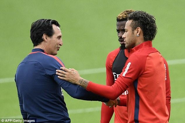 Neymar hang hai tap luyen san sang ra mat Parc des Princes hinh anh 8