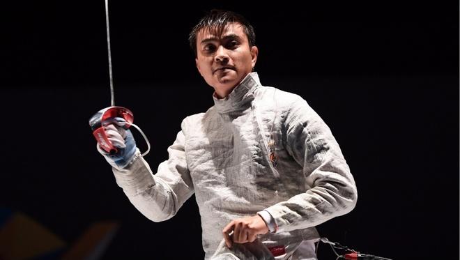 SEA Games 21/8: Ap dao Thai Lan, Thanh An bao ve HCV dau kiem hinh anh
