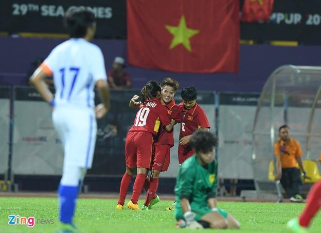 Vuot Thai Lan, tuyen nu Viet Nam lan thu 5 gianh HCV SEA Games hinh anh 17