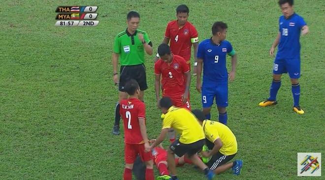 Ha Myanmar, U22 Thai Lan gianh ve vao chung ket SEA Games hinh anh 7