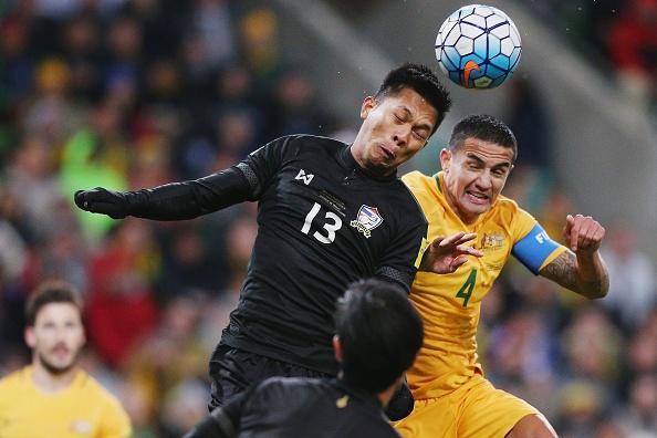 Thai Lan thua tran thu 8 o vong loai World Cup 2018 hinh anh