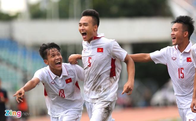 U18 Viet Nam an mung cam xuc sau tran thang ung vien vo dich hinh anh 9
