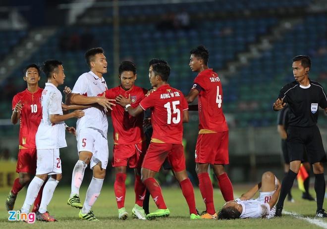 U18 Myanmar 2-1 U18 Viet Nam: Ac mong SEA Games tai dien hinh anh 15