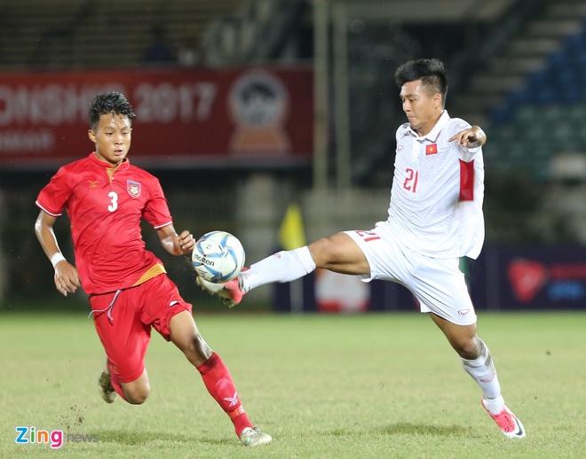 U18 Myanmar 2-1 U18 Viet Nam: Ac mong SEA Games tai dien hinh anh 16