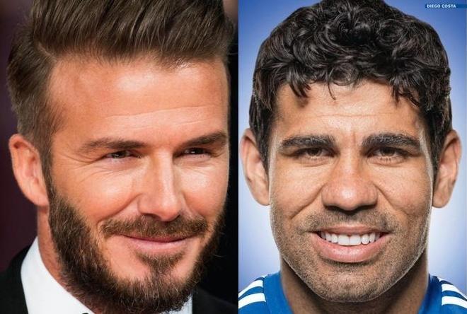 Diego Costa, Beckham va nhung ngoi sao bi HLV ghe lanh hinh anh