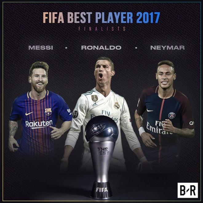 Vao danh sach de cu The Best, Ronaldo lap ky luc chua tung co hinh anh 1