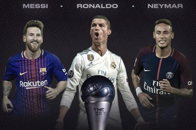 Vao danh sach de cu The Best, Ronaldo lap ky luc chua tung co hinh anh