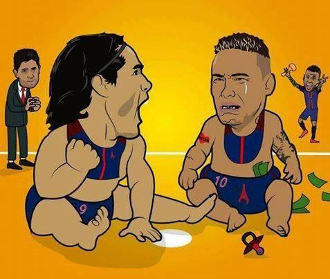 Hi hoa Neymar, Cavani hop luc 'lam goi' Carlo Ancelotti hinh anh 10