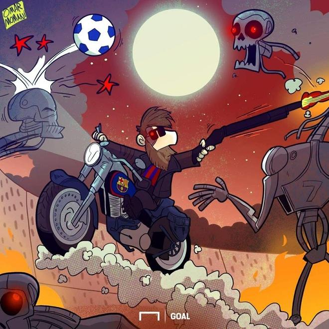 Hi hoa Neymar, Cavani hop luc 'lam goi' Carlo Ancelotti hinh anh 3