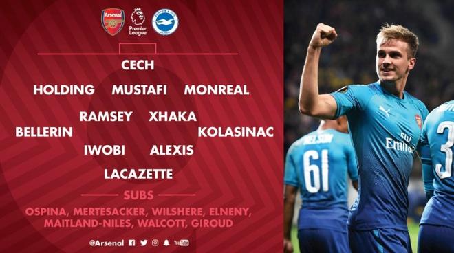 Arsenal vs Brighton (2-0): Sanchez kien tao dang cap hinh anh 6